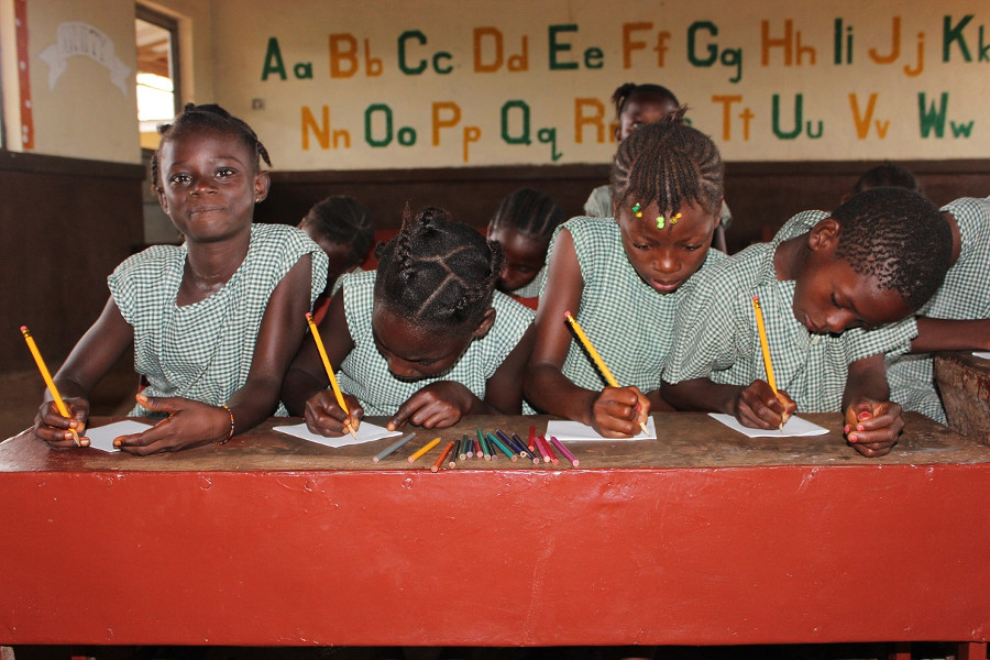 School in Sierra Leone
